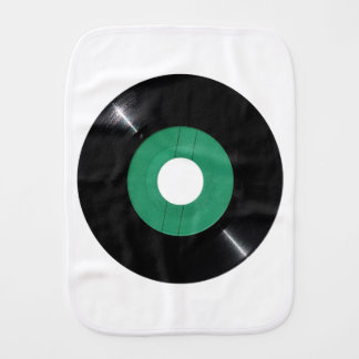 Vinyl record transparent PNG Burp Cloth