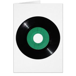 Vinyl record transparent PNG Card