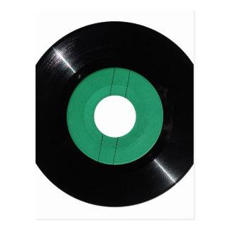 Vinyl record transparent PNG Postcard