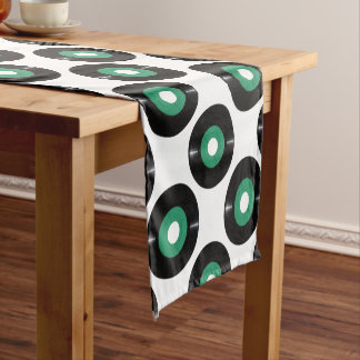 Vinyl record transparent PNG Short Table Runner