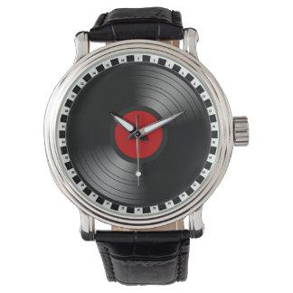 Vinyl Record Wristwatch
