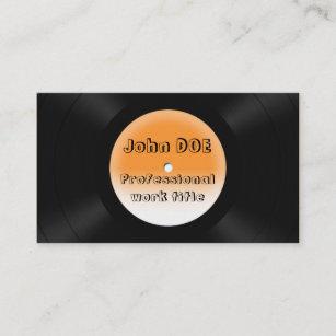 vinyl record business cards profile cards zazzle ca