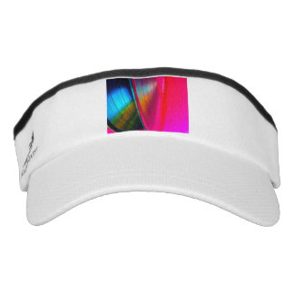 Vinyl records magenta visor