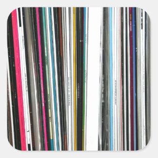 Vinyl Records Stickers