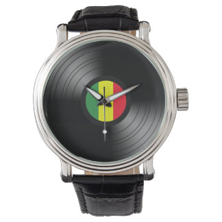 Vinyl reggae watch