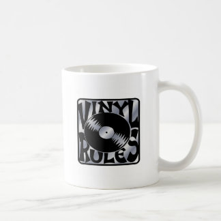 Vinyl Rules Coffee Mug
