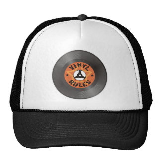 Vinyl Rules Trucker Hat