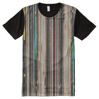 Vinyl Spinal All-Over-Print T-Shirt