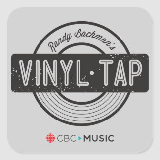 Vinyl Tap Square Sticker