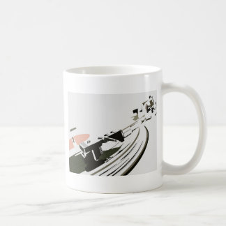 Vinyl Turntable Coffee Mug
