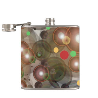 Vinyl Wrapped Flask