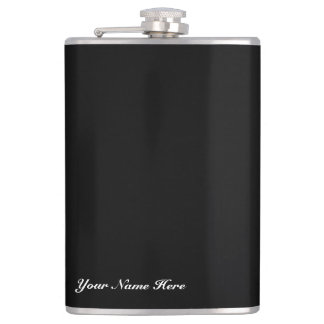 Vinyl Wrapped Your Name Here Customize Flask