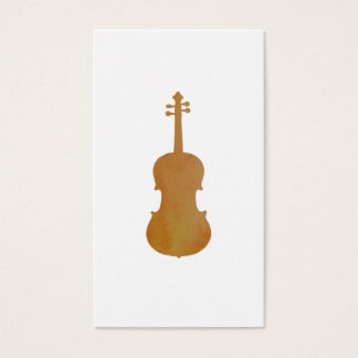Viola art business card