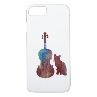 Viola Cat Art iPhone 8/7 Case