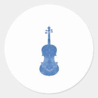 Viola Classic Round Sticker