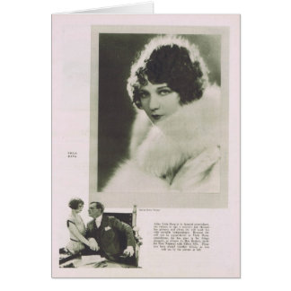 Viola Dana 1925 portrait Card