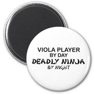 Viola Deadly Ninja by Night Magnet
