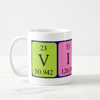 Viola periodic table name mug