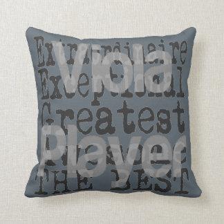 Viola Player Extraordinaire Throw Pillow