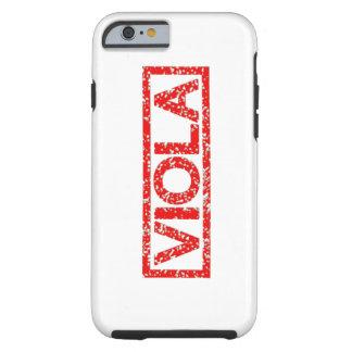 Viola Stamp Tough iPhone 6 Case