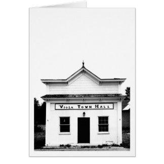 Viola Town Hall Card