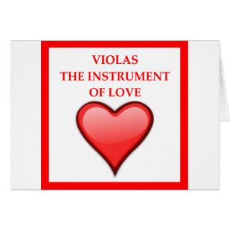 VIOLAS CARD