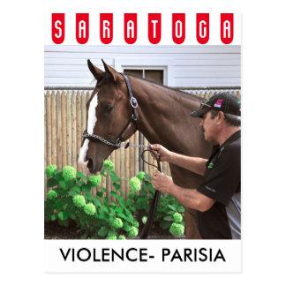 Violence - Parisia Postcard