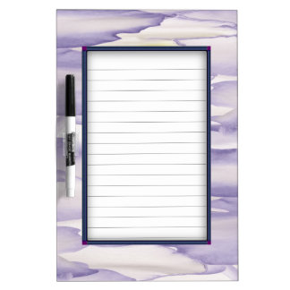 Violent Orchid Dry Erase Board