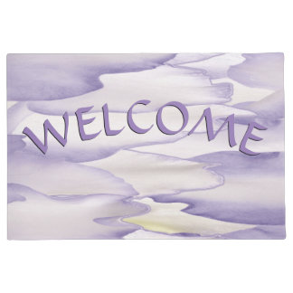 Violent Orchid Welcome Doormat
