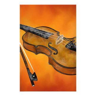 Violessina V1 - instrumental painting Stationery Paper