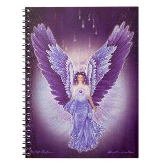 Violet Amethyst Angel Notebook
