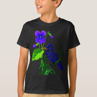 Violet and Blue Jay T-Shirt