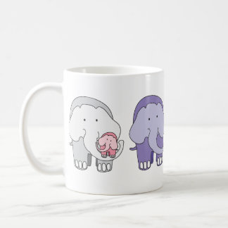 Violet and Friends - The Elephants Coffee Mug