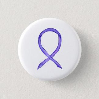 Violet Awareness Ribbon Custom Art Pins