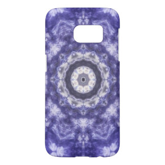 Violet Blue Lace Samsung Galaxy S7 Case