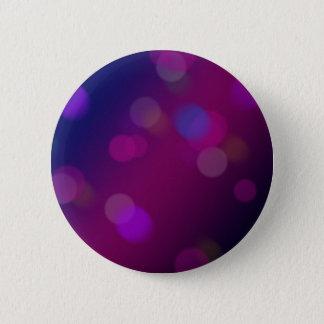 Violet Bokeh 2 Inch Round Button