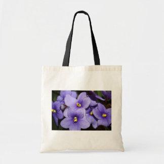 Violet Boquet Tote Bag