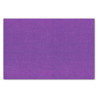 Violet Burlap Texture Tissue Paper