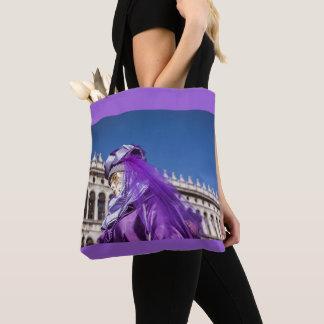 Violet carnival mask in Venice Tote Bag