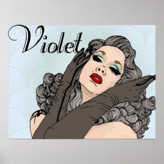 Violet Chachki Poster