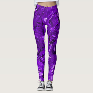 Violet Chaos Leggings