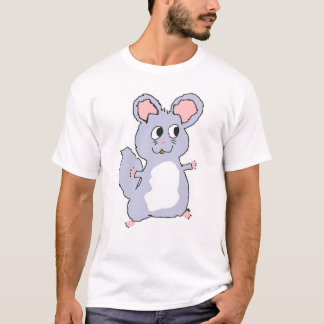 Violet Chinchilla Cartoon Shirt