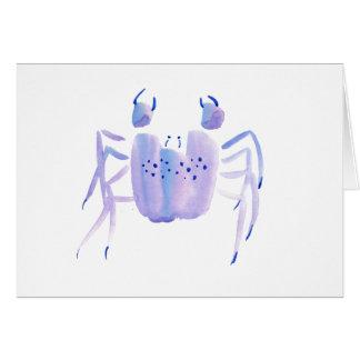 Violet Crab Card