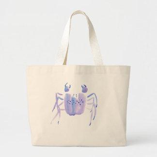 Violet Crab Large Tote Bag