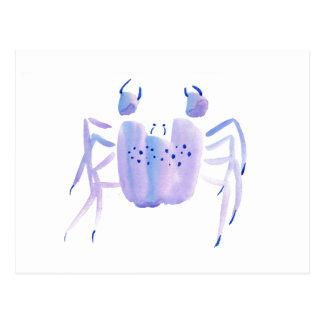 Violet Crab Postcard