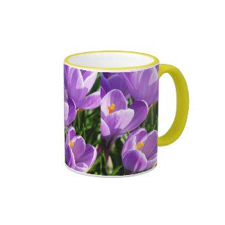 Violet Crocus Coffee Mug