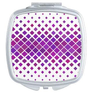 Violet Diamonds Compact Mirrors