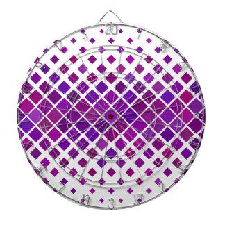 Violet Diamonds Dartboard