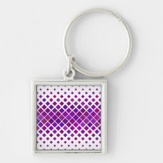 Violet Diamonds Keychain