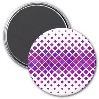 Violet Diamonds Magnet